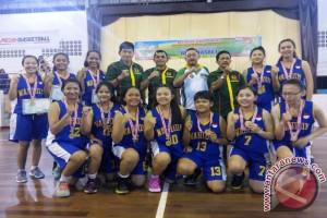 Medan Marelan dan Deli Juara Basket
