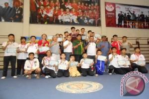 Medan Kota Pertahankan Juara Umum Wushu
