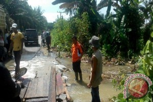 Kaban BPBD,  Tinjau Lokasi Banjir Nanasiam