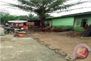 4 Desa Dimuara Batang Gadis Diterjang Banjir Bandang