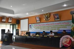 Walikota Sampaikan RPJMD Tebing Tinggi 2017-2022