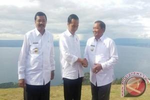 Bupati Samosir Ikut Sambut Presiden