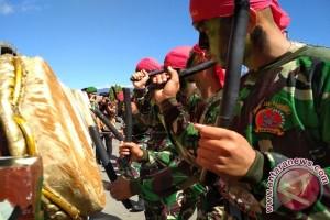 Batalyon 123/Rajawali Hibur Ribuan Masyarakat Padangsidimpuan