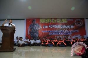 Edy Rahmayadi: Bikers Perlu Wadah Untuk Pembangunan Sumut